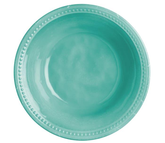 Aqua Harmony Set of 6  Soup Bowls