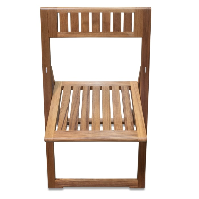 Teak Folding Slat Chair
