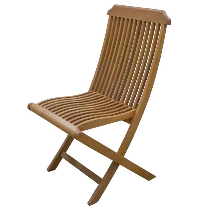 Teak Folding Deck Chair