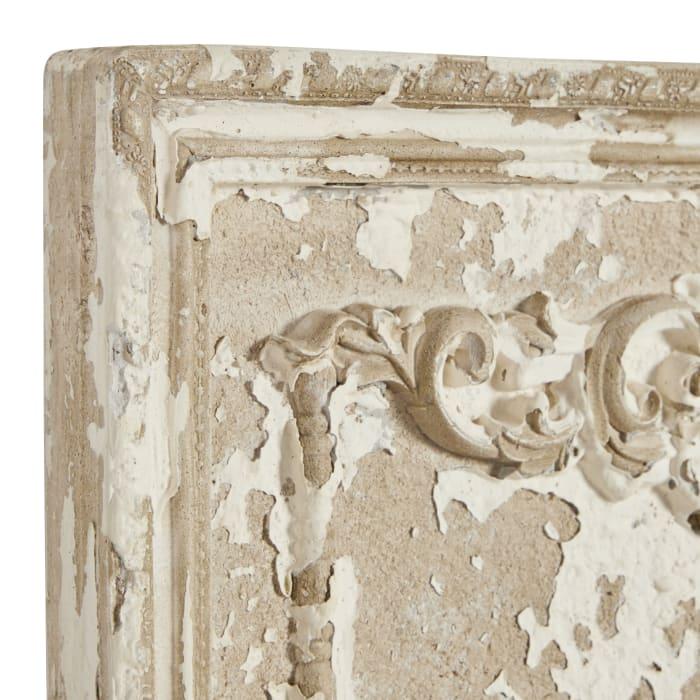 Resin Vintage  Beige Set of 2  Wall Decors