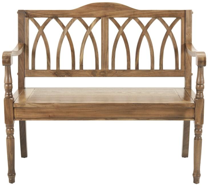 Safavieh Mariel Oak Bench