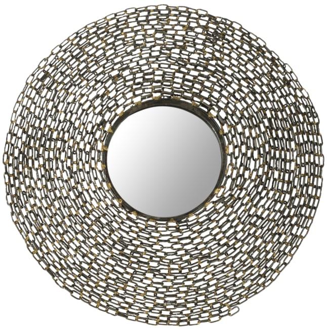 Safavieh Kristina Natural Iron & Glass Mirror