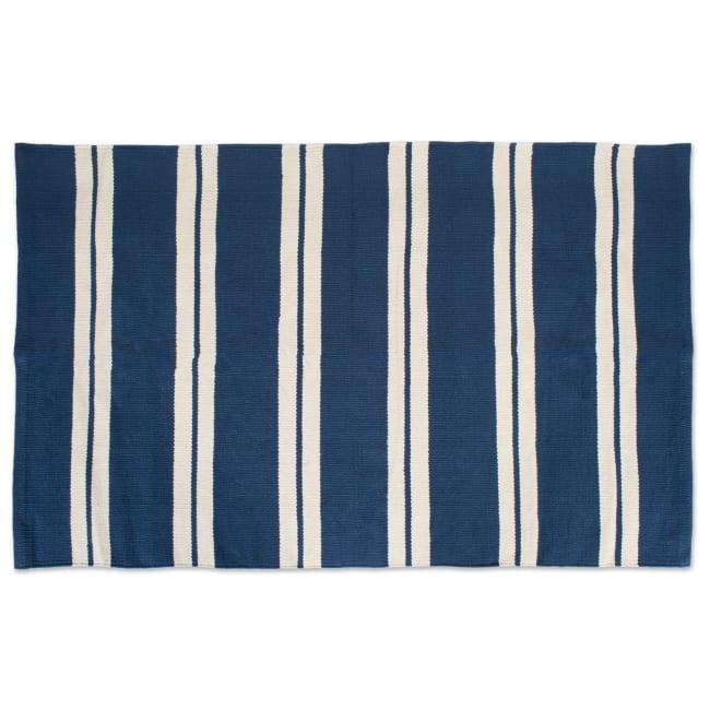J&M Double Cabana Stripe Assorted Rugs 30x48