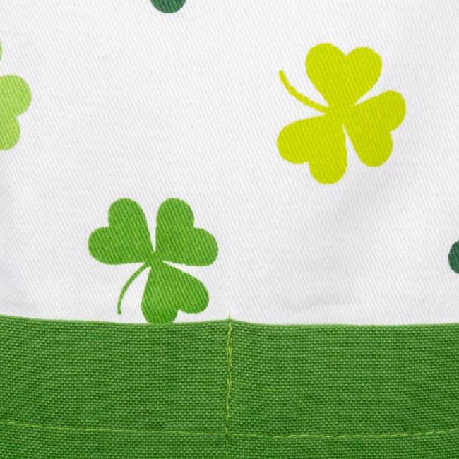 St. Patrick's Day Irish Luck Green Cotton Apron