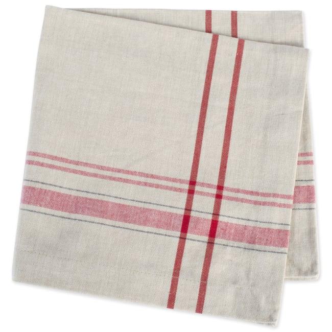 Mabel Red Cotton Napkin Set of 6
