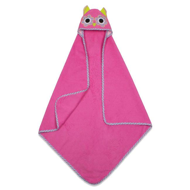 Kids Hooded Owl Towel