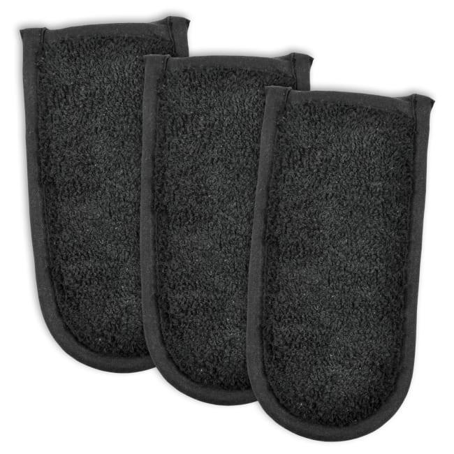 Black Terry Pan Handle Set of 3