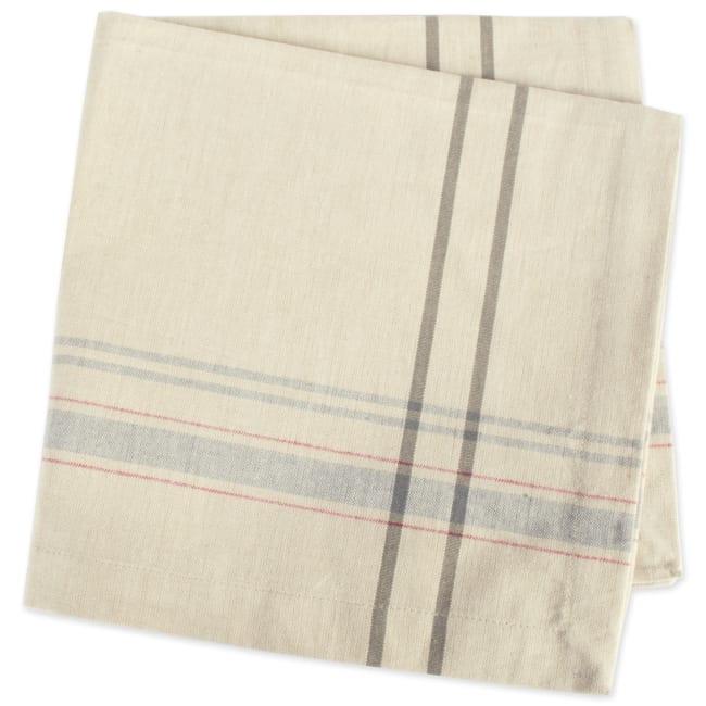 Mabel Gray Cotton Napkin Set