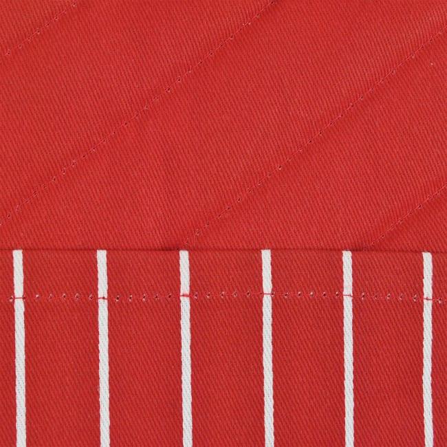 Red Stripe Pot Holder Set of 2