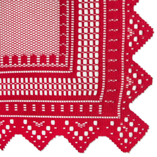 Nordic Red Lace  90