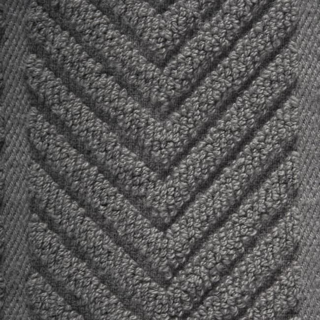 Textured Gray Dish Towel Set of 4