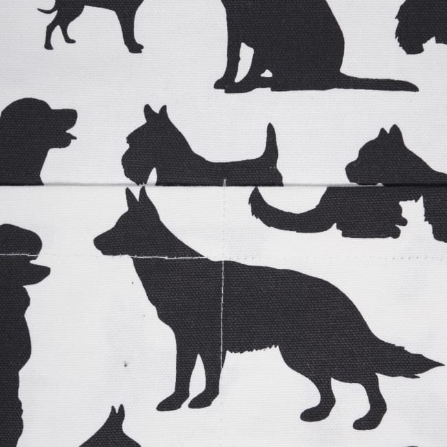 Dog Print Apron