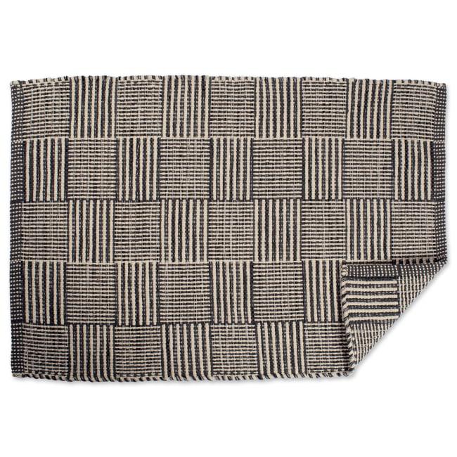 Patchwork Gray 2'x3' Rug