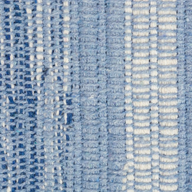 Blue Recycled 2'x3' Rug