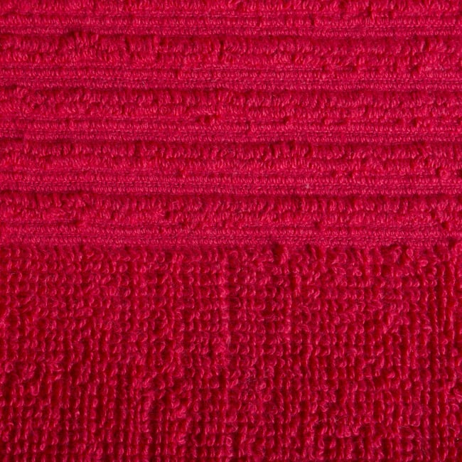 Assorted Ribbed Bright Red Dishcloth Set
