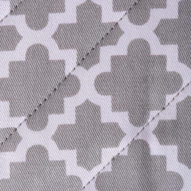 Geometric Gray Panhandle Set of 3