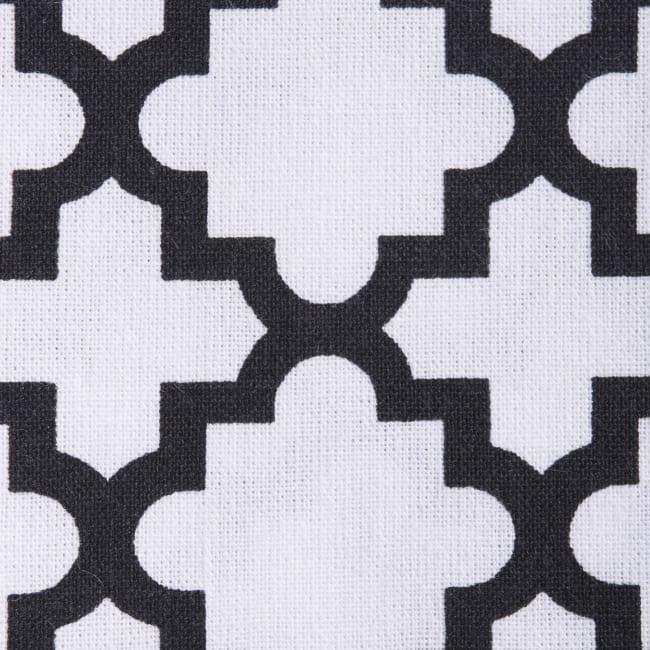 Geometric White Dishtowel Set