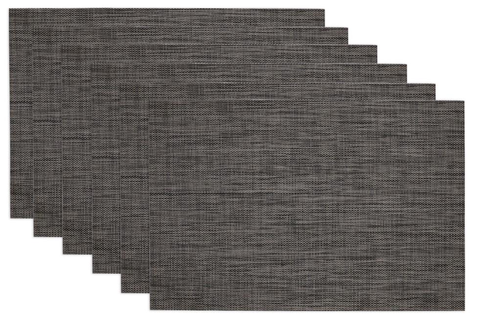 Gray Tonal Placemats Set of 6