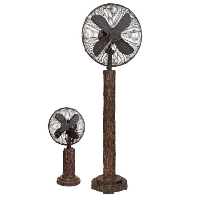 Fir Bark Table Fan