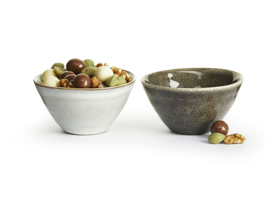 Sagaform Nature Serving Bowl Mini, 2 Pack