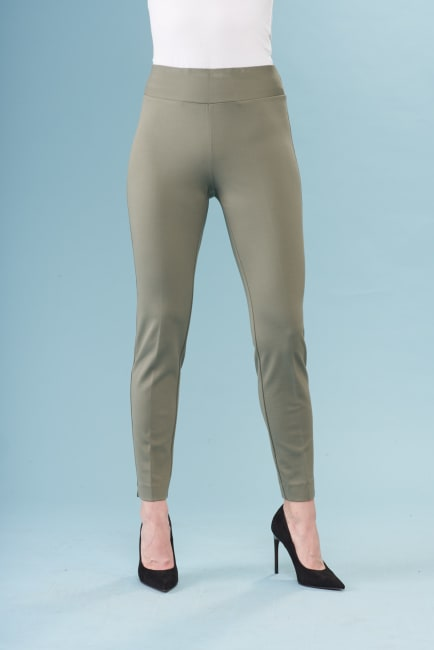 Lena Gabrielle Light Weight Straight Leg Ponte Pant