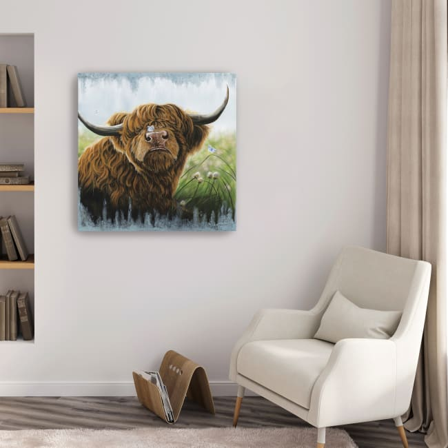 Butterfly Kisses Canvas Giclee