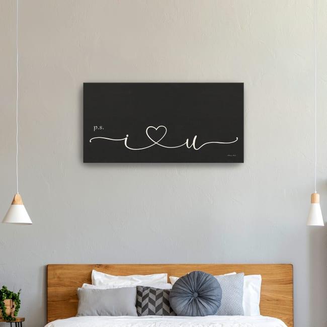 I Heart You Canvas Giclee