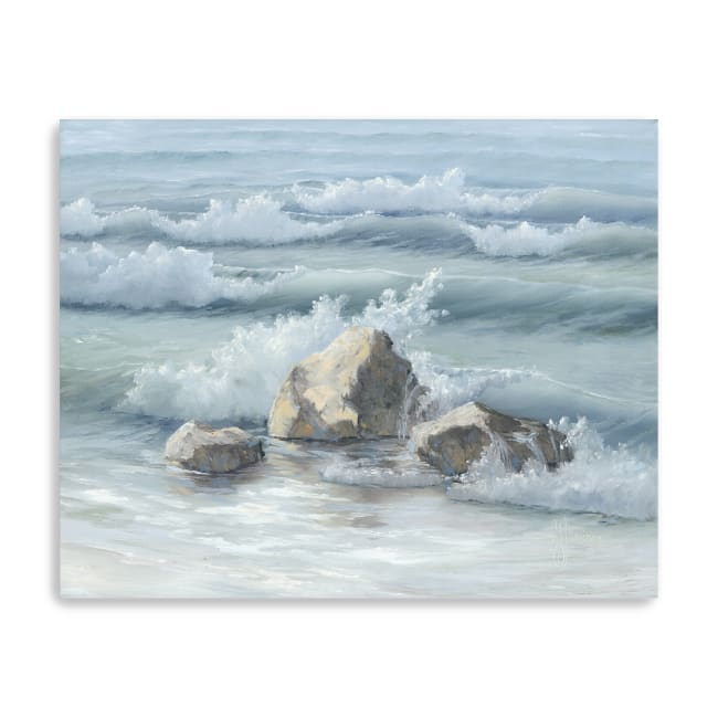 Steadfast in the Waves Canvas Giclee