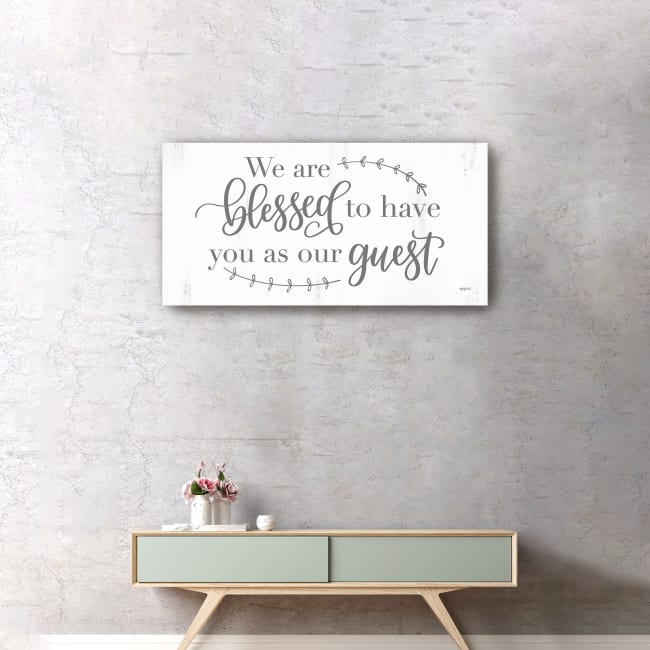 Blessed Guest Canvas Giclee