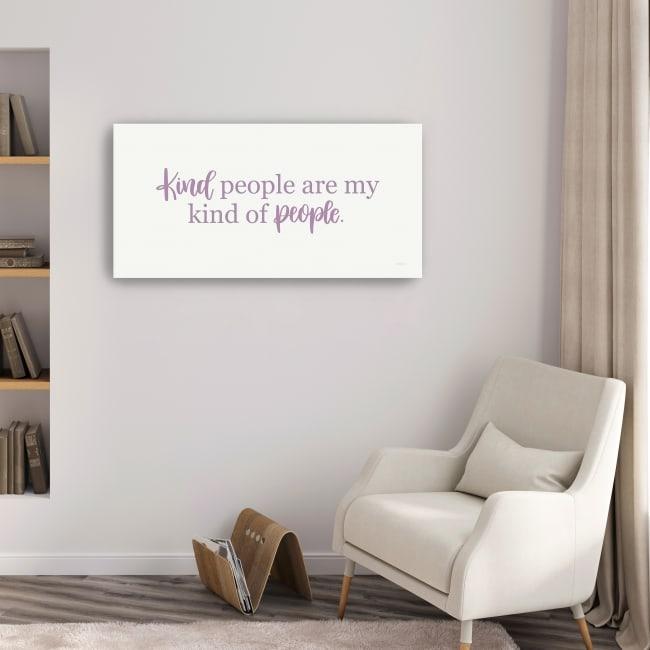 Kind People Canvas Giclee