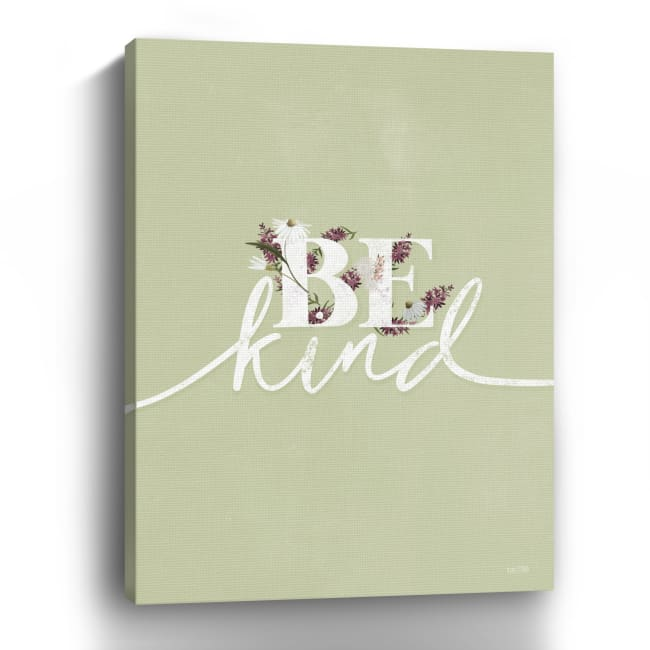 Be Kind Canvas Giclee