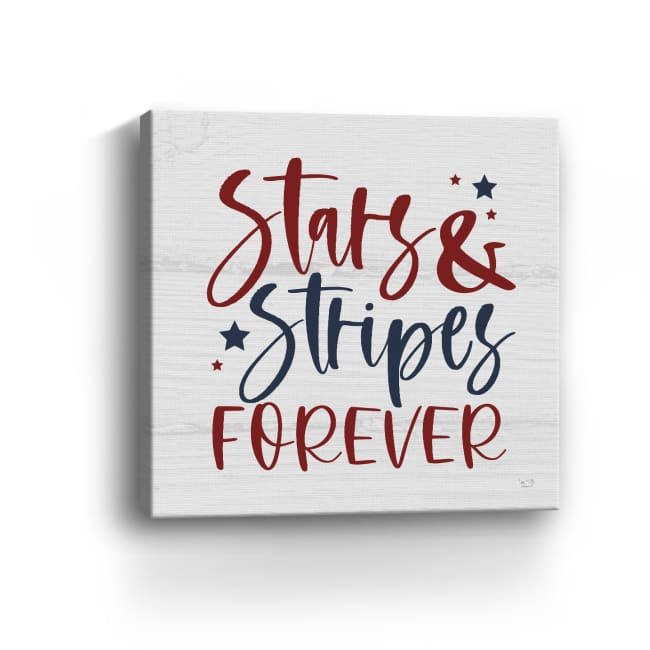 Stars and Stripes Forever II Canvas Giclee
