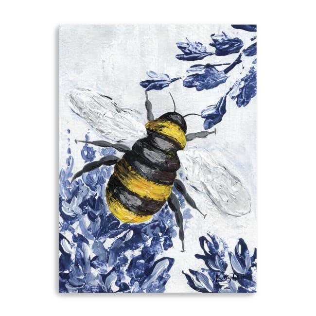 Bumblebee Garden Canvas Giclee