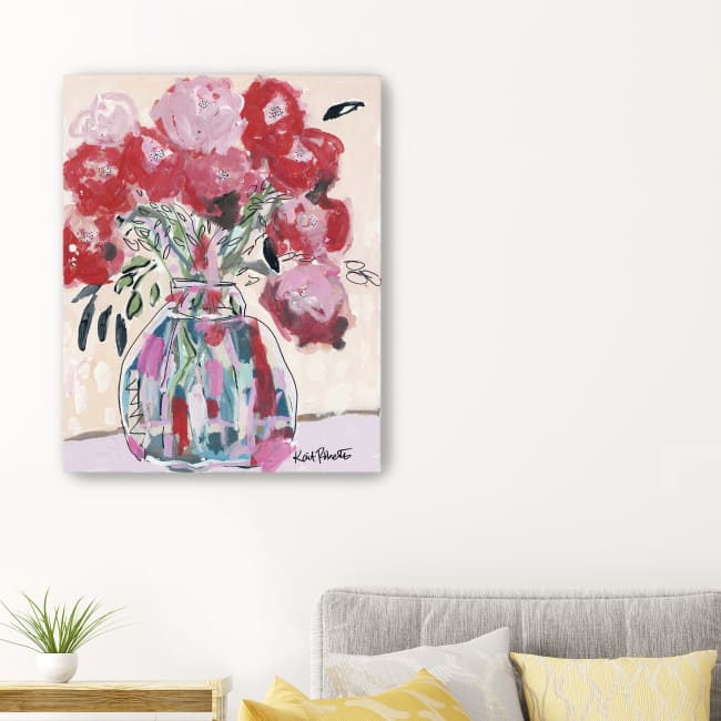Let Your Teardrops Fall Canvas Giclee
