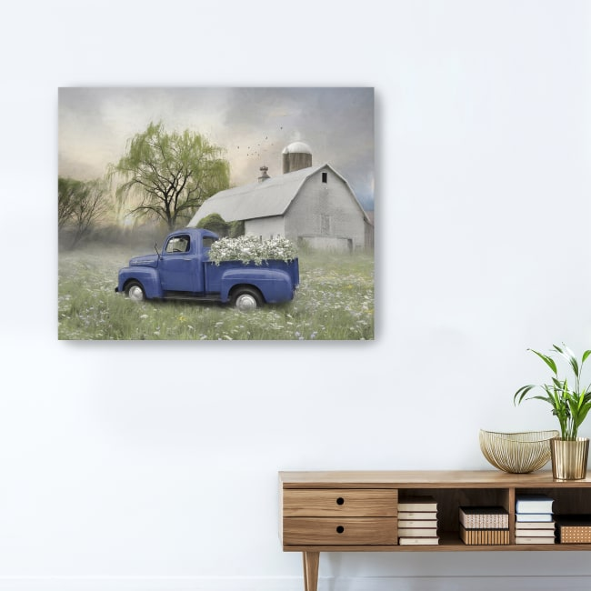 Old Fashioned Spring Canvas Giclee