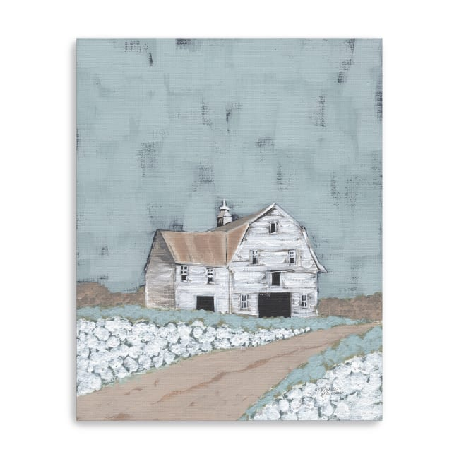Raised in a Barn Canvas Giclee