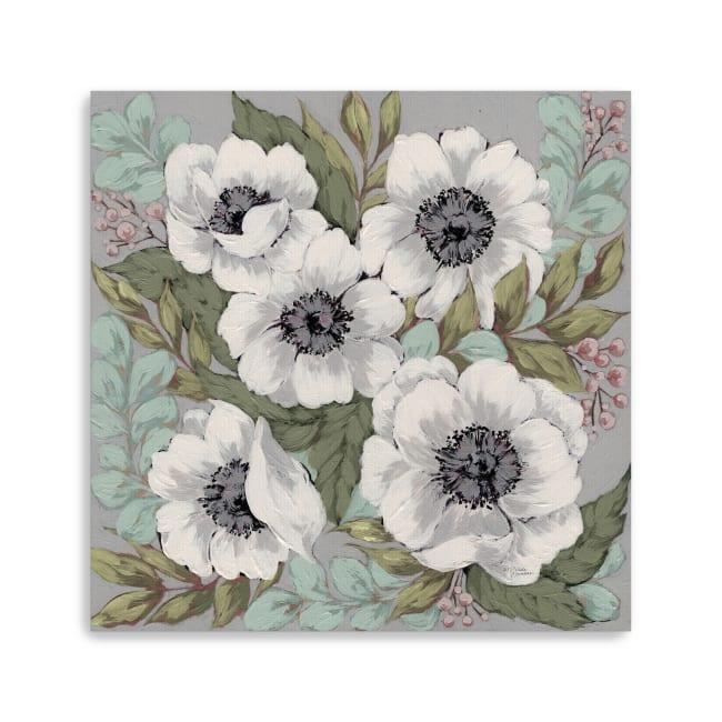 Anemone Garden Canvas Giclee