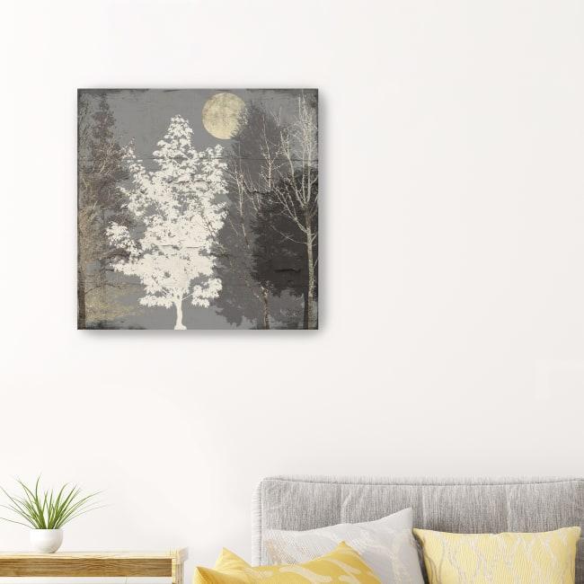 Moon Trees II Canvas Giclee
