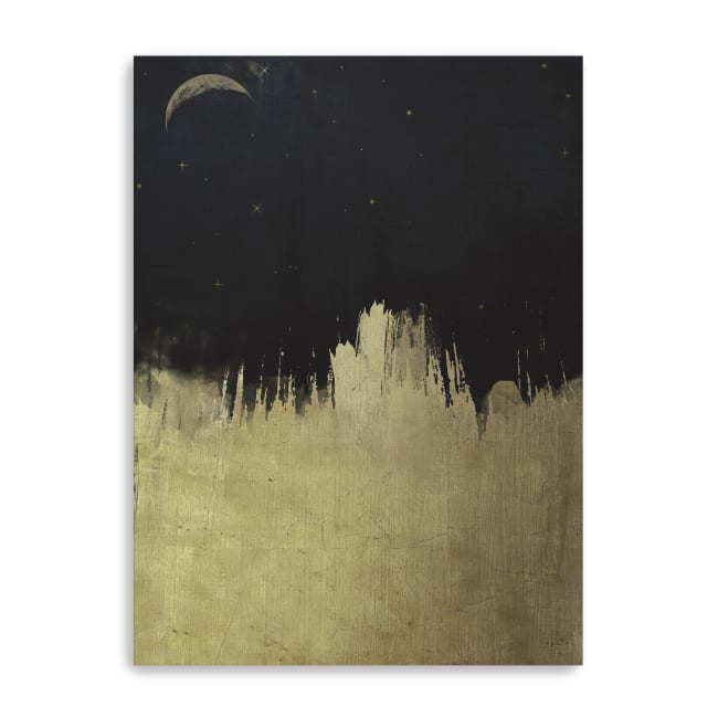 Painted Night Canvas Giclee