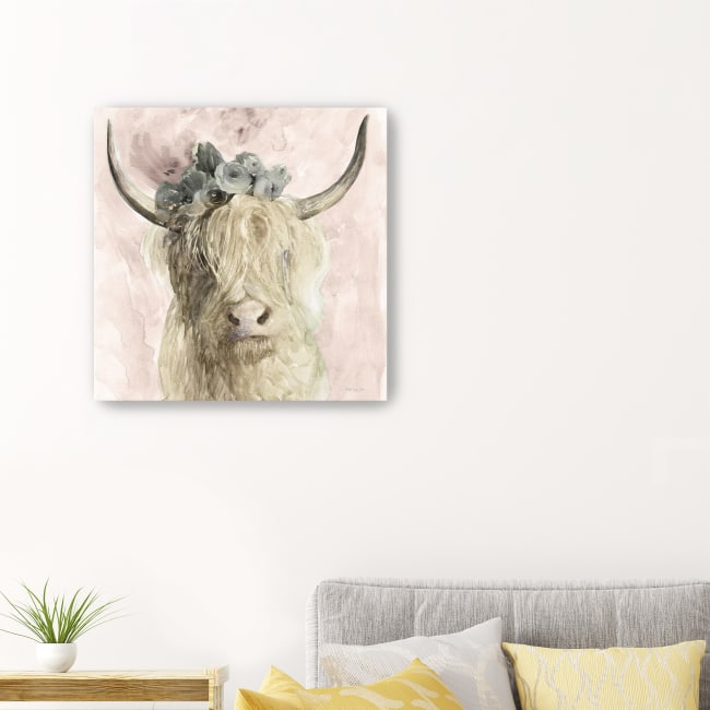 Highland Pretty Canvas Giclee