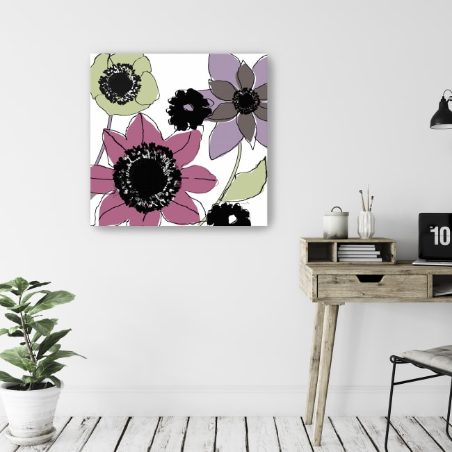 Scribbles I Canvas Giclee
