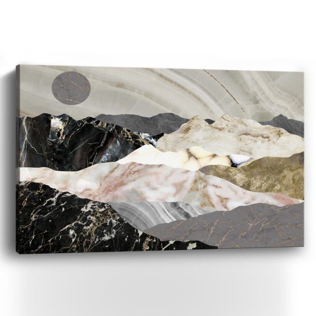 Marble Mountains Canvas Giclee