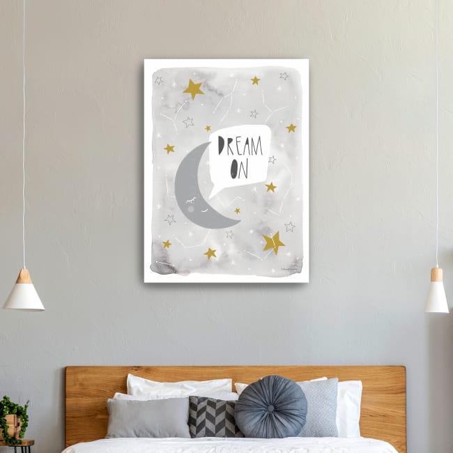 Dream On Canvas Giclee