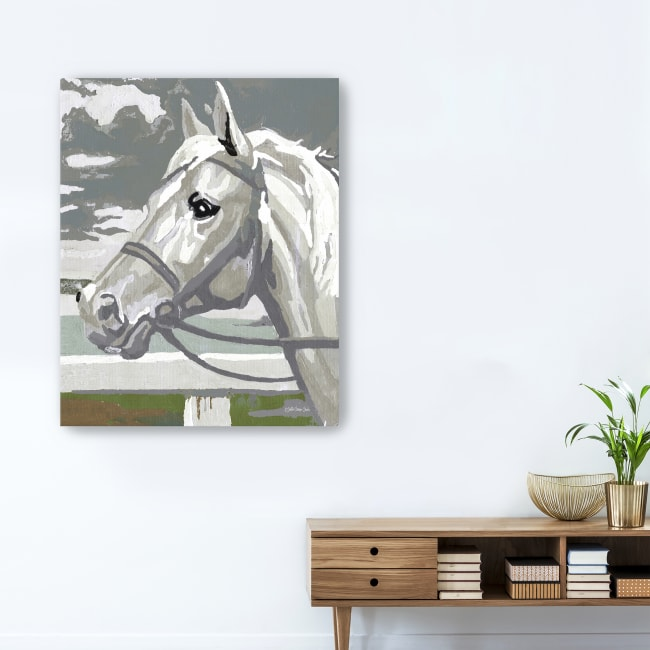 Painted Horse 2 Canvas Giclee