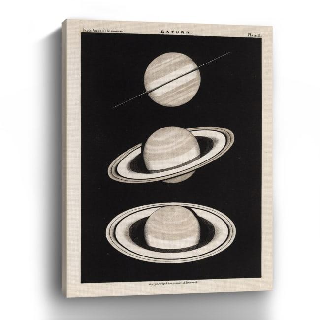 Saturn Canvas Giclee
