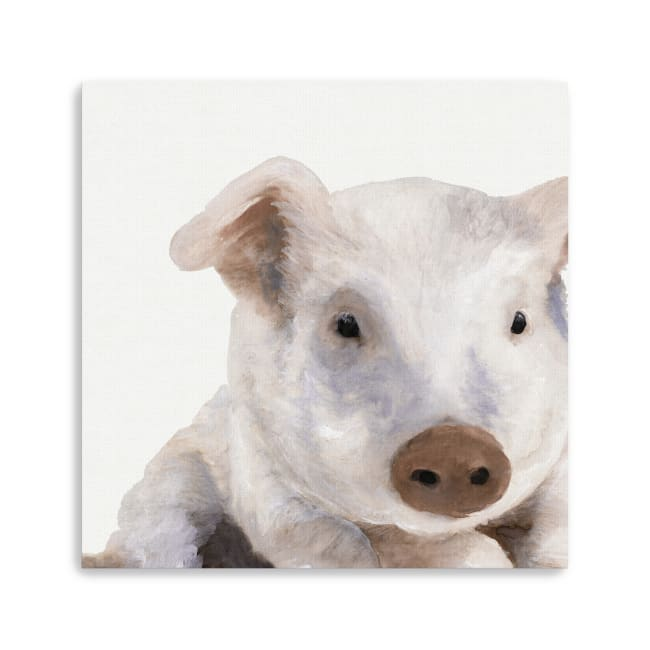Biscuit Canvas Giclee