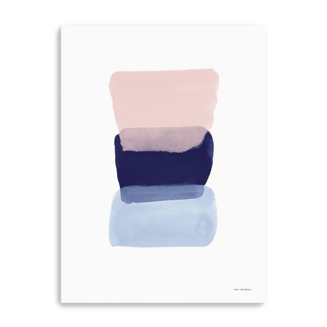 Color Strokes Canvas Giclee