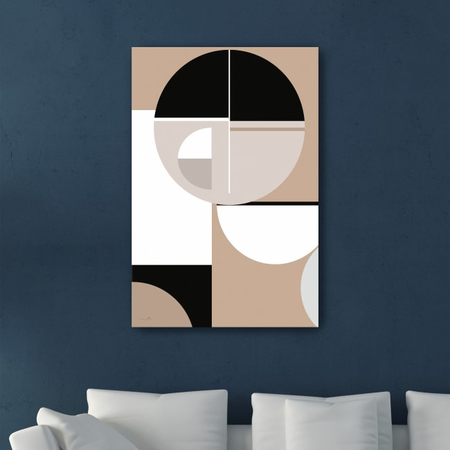 And the Moon Canvas Giclee