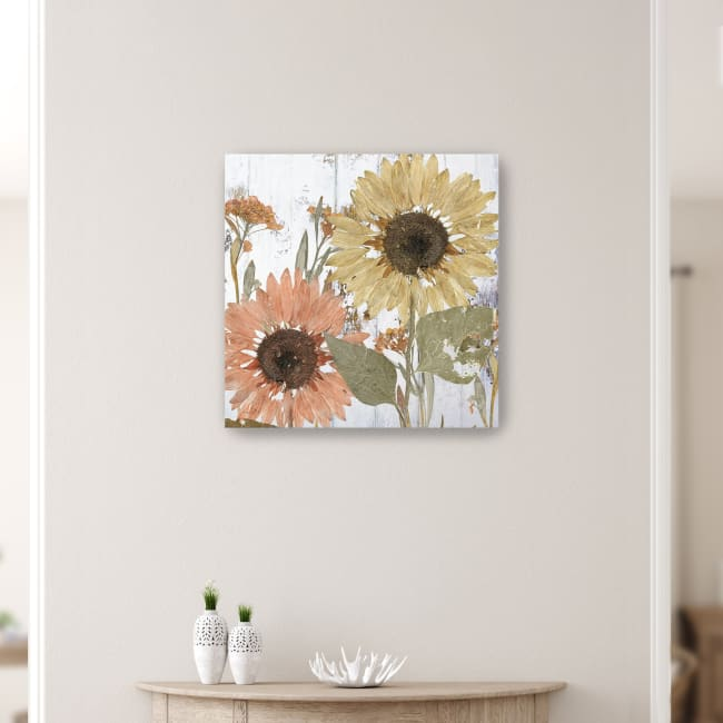 Earth to Petals II Canvas Giclee