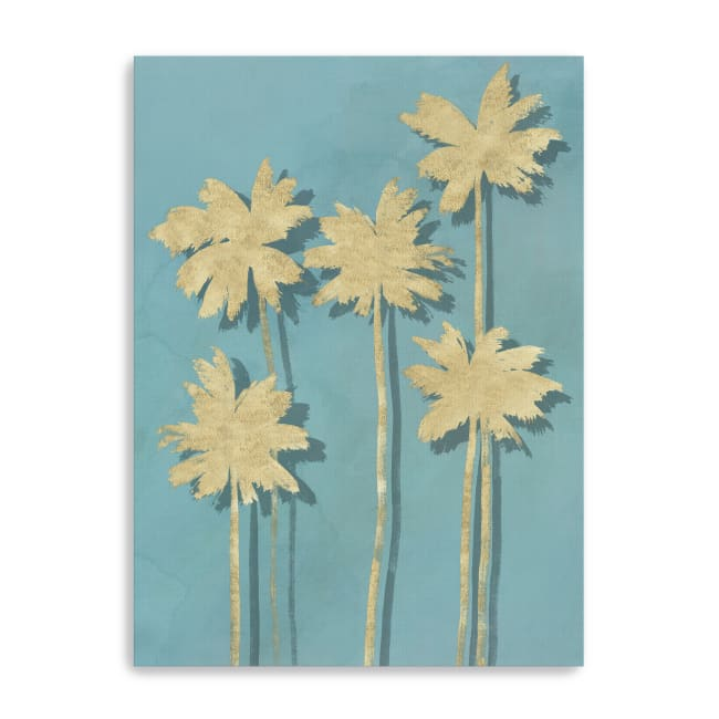 Golden Palm I Canvas Giclee